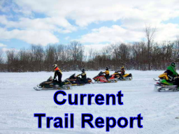 Link to Trail Reports